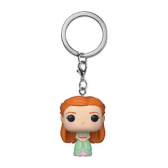 Harry Potter Ginny Weasley Yule Pocket Pop! Keychain