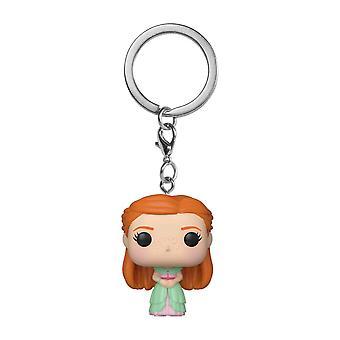 Harry Potter Ginny Weasley Yule Pocket Pop! Kulcstartó