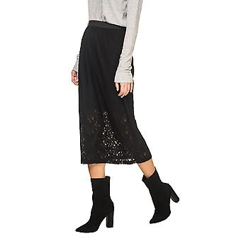 B.Young Women's Pebora Lace Midi Skirt