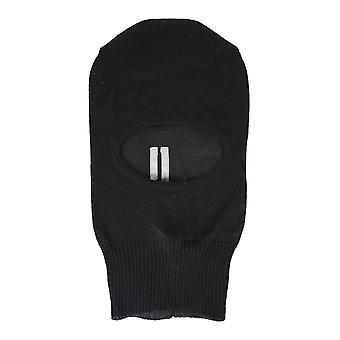 Rick Owens Ru20f3478m09 Men's Black Wool Hat