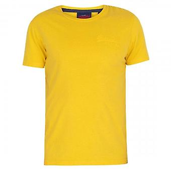 Superdry VL Premium Goods Tonal Injection T-Shirt Nautical Yellow NWI