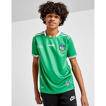 New O'Neills Kids' Limerick GAA 2018 Home Shirt Green