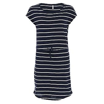 Women's Only May Life Stripe Dress in Blue