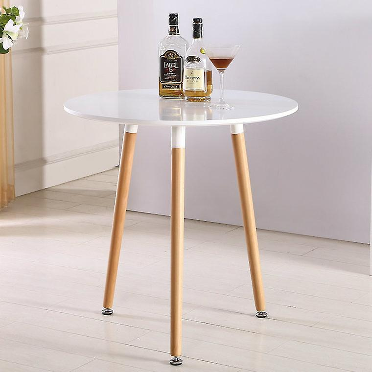 Eiffel Inspired Halo Table Round - White - Large