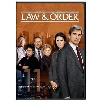 Law & Order - Law & Order: The Eleventh Year [5 Discs] [DVD] USA import