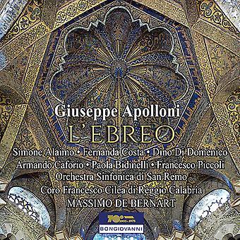 Apolloni / Domenico / Piccoli - L'Ebreo [CD] USA import