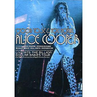 Alice Cooper - goed om te zien u weer Alice Cooper-Live 1973: Bil [DVD] USA import