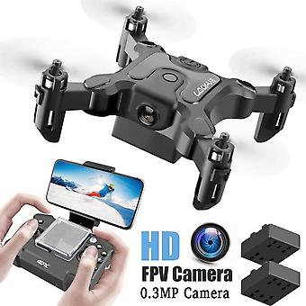 Mini Drone a HD kamera magasság tartás mód RC Quadcopter RTF WiFi FPVQuadcopter Follow Me RC helikopter