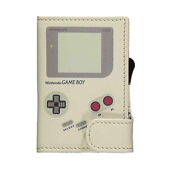 Gameboy Card Wallet ID Console Logo nouvelle Nintendo Grey officielle