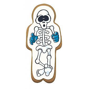Placa de açúcar do esqueleto de gengibre culpitt - 75 X 163mm