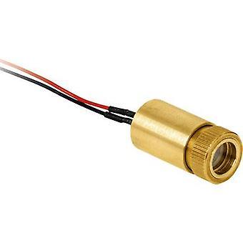 Laser Components Laser module Line Red 3 mW LC-LMP-635 -287-03-A