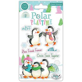 Craft Consortium Polar Playtime BFF Clear Stamps