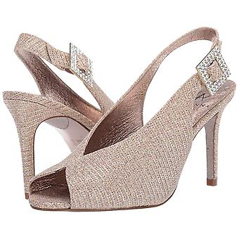 Adrianna Papell Women's Shoes Fiora Fabric Peep Toe Special Occasion Mule San...