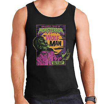 The Wolf Man Tales Of Monsterror Men's Vest