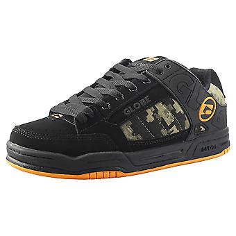 Globe Tilt Mens Skate Trainers in Black Camouflage