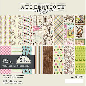 Authentique Cottontail 6x6 pulgadas de papel Pad
