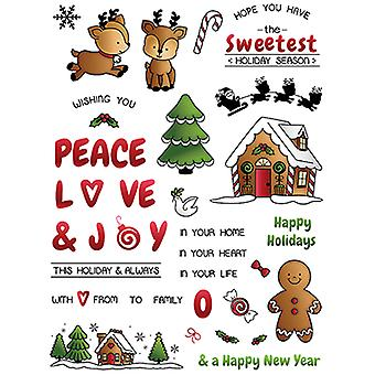LDRS Creative Candy Cane Lane Clear Timbres