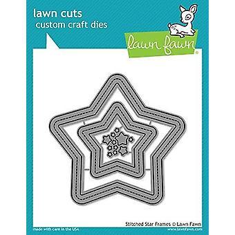 Lawn Fawn Stitched Star Frames Dies