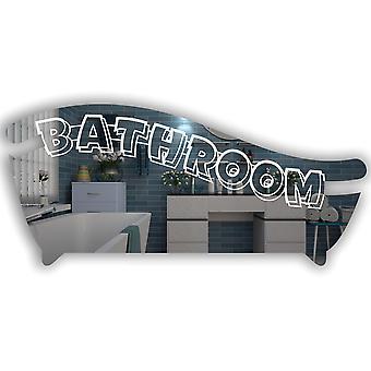 Bath Tub Bathroom Wall or Door Sign