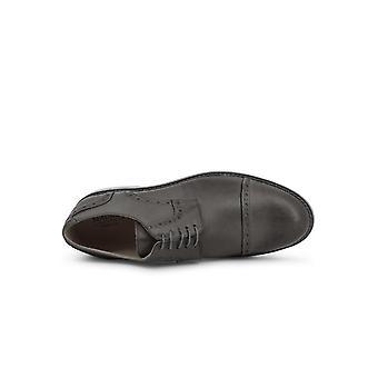 Madrid - Shoes - Lace-up shoes - 607-PELLE-GRIGIO - Men - gray - EU 41