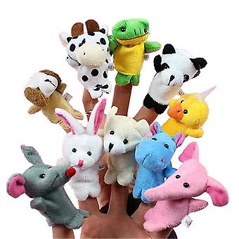 Cartoon Animal Finger Puppet Baby Plush Toys For Children Gift