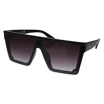 Gafas de sol Unisex Rectangular Cat. 3 negro/gris (20-011)