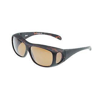 Zonnebril Unisex bruin met bruine lens Vz0003lb