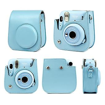 Instax Mini 11 Camera Artist Oil Paint Pu Leather, Instant Camera Shoulder Bag