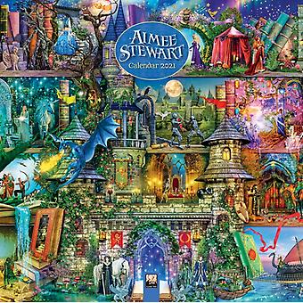 Aimee Stewart Wall Calendar 2021 Art Calendar by Created by Flame Tree Studio