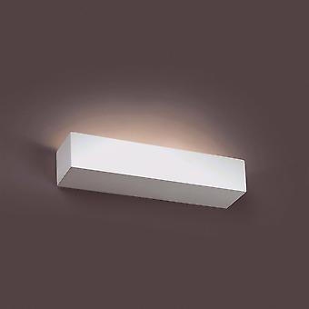 Faro Eaco-2 - 2 Light Indoor Large Wall Light White Plaster, G9