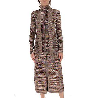 Missoni Mda00103bk00nrsm33z Women's Multicolor Wool Cardigan