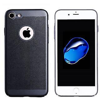 Colorfone iPhone 7 Shell com furo (preto)