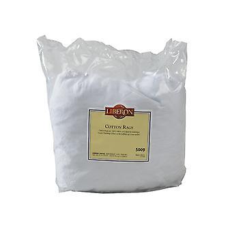 Liberon Cotton Rags 500g LIBCR500G