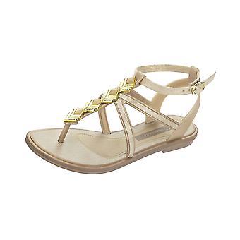 Grendha Glamour Sandal Kids Flip Flops - Sandals - Beige Gold