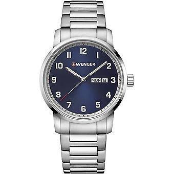 فينجر - ساعة اليد - الرجال - الموقف - 01.1541.121 - أزرق، 42 مم