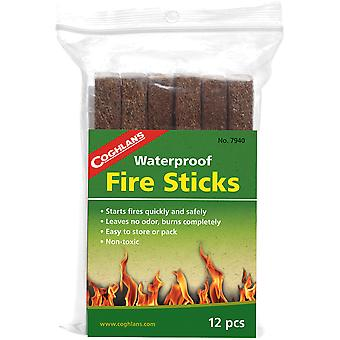 Coghlan's Waterproof Fire Sticks (12 Pack), Non-toxic Odorless Survival Emergency