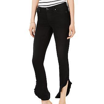 Joe's | Trina The Icon Mid Rise Skinny Ankle Ruffled Hem Jeans