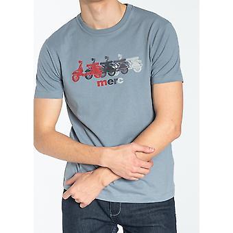 T-shirt imprimé scooter gris clair Marden