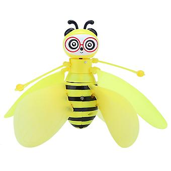 Rc Mini Infraed Sensor Bee Flying Induction - Aircraft Drone Kids Toy (žltá)