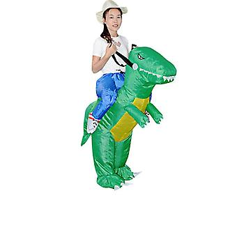 Inflatable Animal Dinosaur Halloween Party Costume - Three Dimensional Rideable