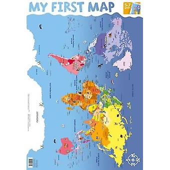 My First World Map Wall Chart  76cm x 52cm