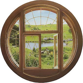 Hobbit Wall Decal - Hobbit Hole Window Usa import
