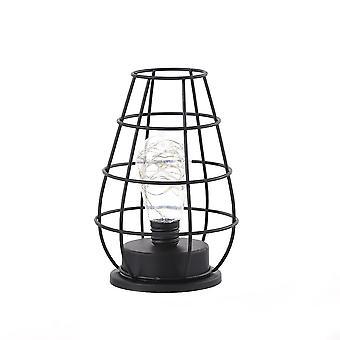 Retro Classic Iron Art Led -lampa stołowa do dekoracji wnętrz