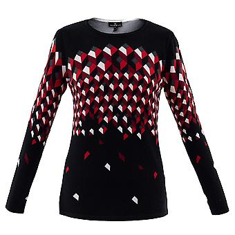 MARBLE Marble Red Sweater 5792
