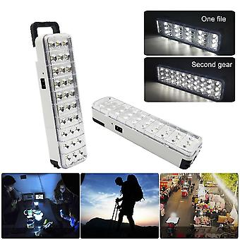 30led Multi-function Rechargeable Emergency Light - 2 Mode For Home/ Camp/ Outdoor