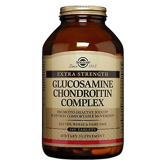 Solgar Extra Strength Glucosamine Chondroitin Complex Tablets, 300 Tabs