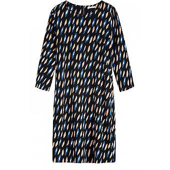 Sandwich Clothing Blue Bold Print Dress