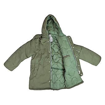 Brand New Kids Hooded Padded Dubon Parka / Jacket /Coat