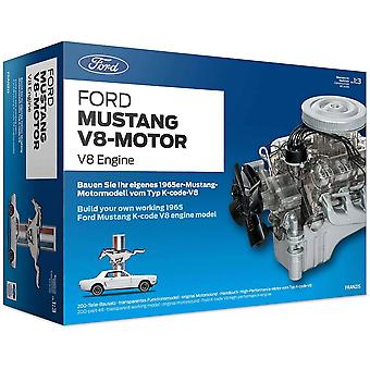 Ford Mustang v8 construction model making engine 1:3 scale engine for ages 8+