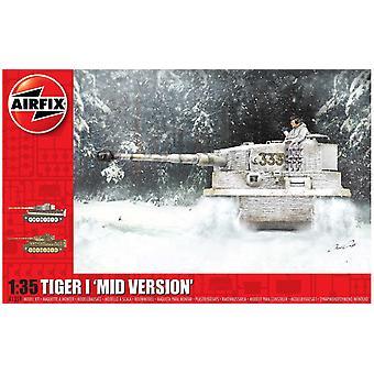 Airfix A1359 Tiger-1 Mid Version Véhicule militaire - 1:35 Kit modèle à l'échelle